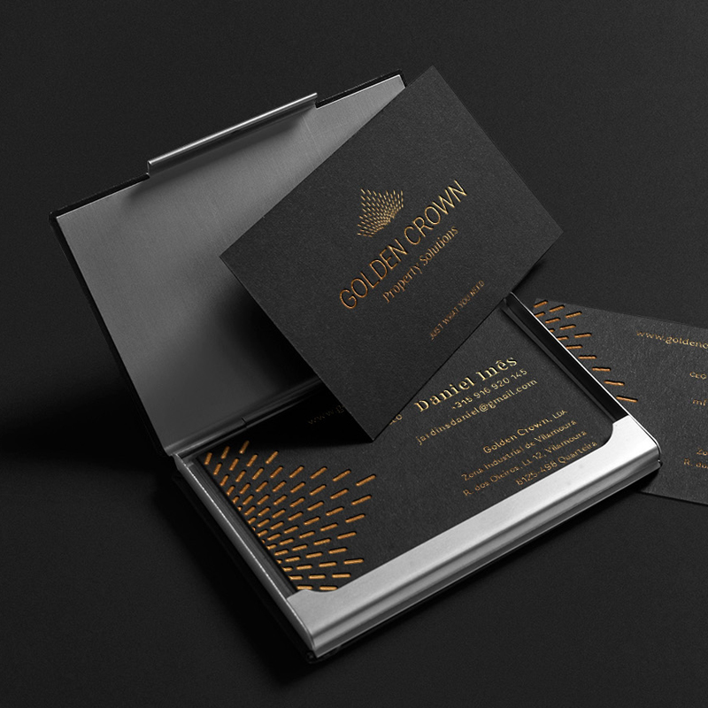 golden crown portfolio branding